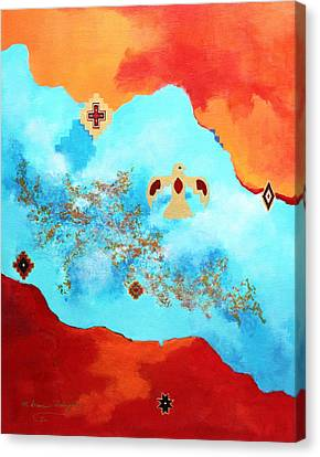 Spirit Power II Canvas Print by M Diane Bonaparte