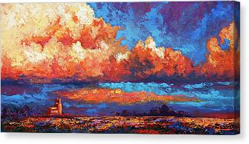 Spirit Sky Canvas Print by Marion Rose
