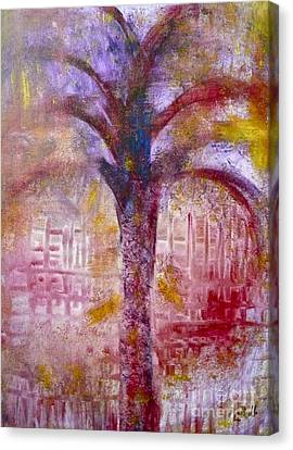 Canvas Print featuring the painting Spirit Tree by Claire Bull