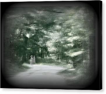 Spirit Walk Canvas Print by Leslie Revels Andrews