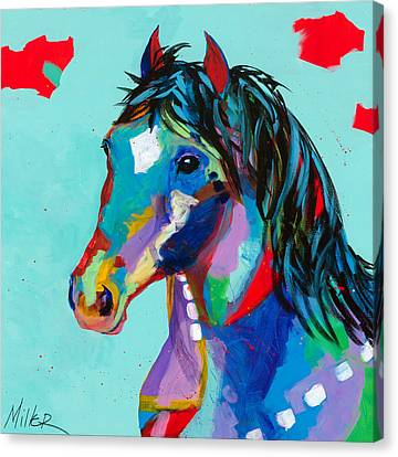 Spirited Canvas Print by Tracy Miller