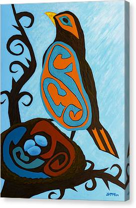 Spirits Of Spring Canvas Print