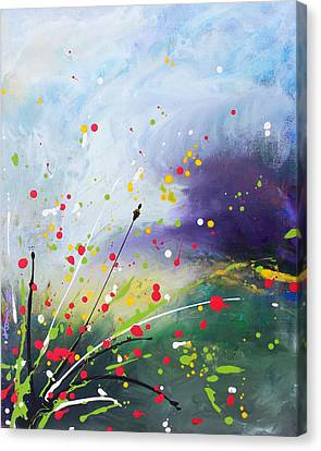 Spirits Of The First May Flowers Canvas Print by Kume Bryant