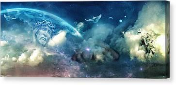 Spiritual  Awakening Canvas Print by John Rivera