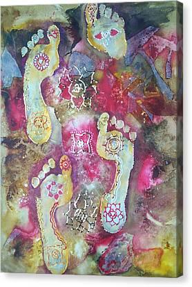 Spiritual Awakening Canvas Print by Vijay Sharon Govender