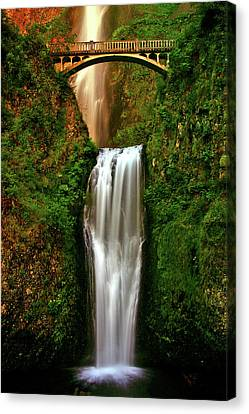 Spiritual Falls Canvas Print by Scott Mahon