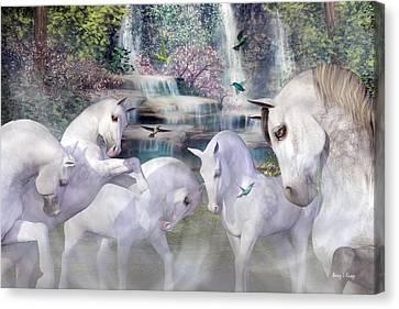 Spiritual Harmony Canvas Print by Betsy Knapp