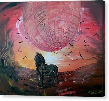 Spiritual Path Canvas Print by Eyal Malek