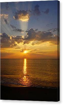 Spiritual Sunrise Canvas Print