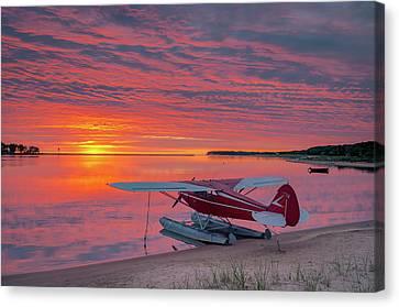 Splash-in Sunrise Canvas Print