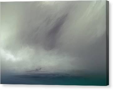 Splash Canvas Print by Lonnie Christopher