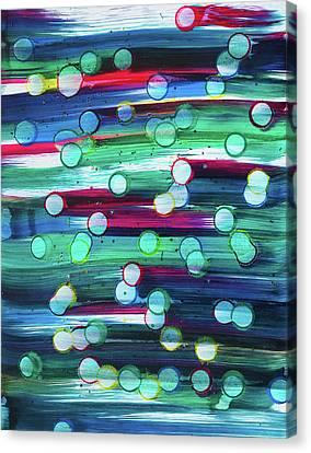 splatterdash No.2 Canvas Print by Tom Druin