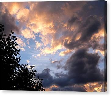Splendid Cloudscape 7 Canvas Print