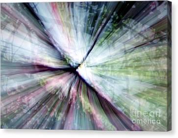 Splintered Light Canvas Print by Balanced Art