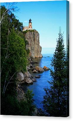 Split Rock Lighthouse Canvas Print
