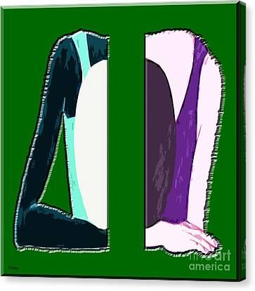 Splitting Headache Canvas Print by Patrick J Murphy