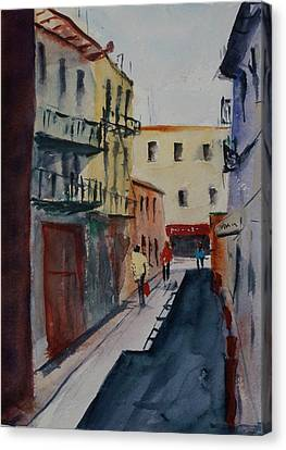 Spofford Street2 Canvas Print by Tom Simmons