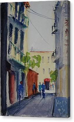 Spofford Street3 Canvas Print by Tom Simmons