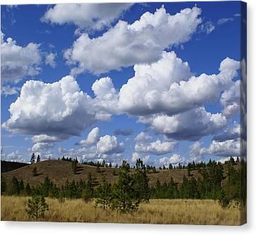 Spokane Cloudscape Canvas Print by Ben Upham III