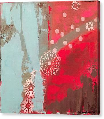 Spontaneous Combustion Canvas Print by Richy Sharshan