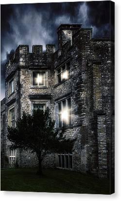 Spooky Castle Canvas Print