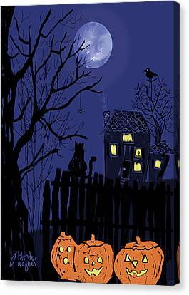 Spooky Night Canvas Print