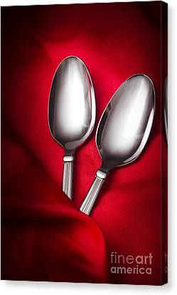 Break Fast Canvas Print - Spooning In Two Course by Jorgo Photography - Wall Art Gallery