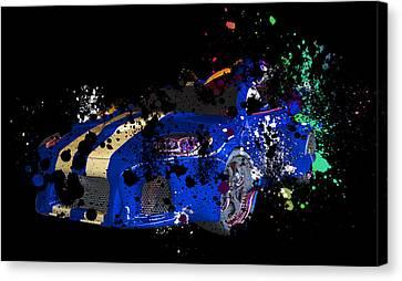 Sport Cars Canvas Print by Mark Ashkenazi