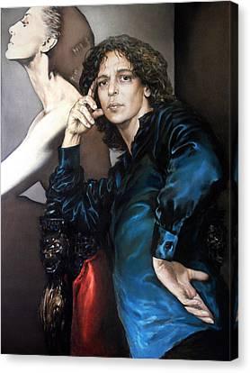 S.portrait Canvas Print by Valeriy Mavlo
