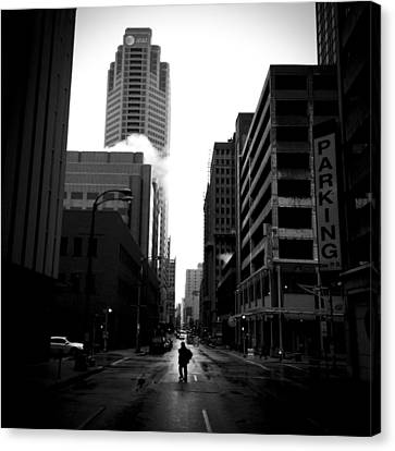 Crosswalk Canvas Print - Spotlight by Henry Lohmeyer