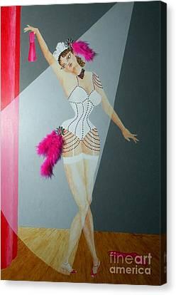 Gypsy Canvas Print - Spotlight On Gypsy -- #5 In Famous Flirts Series by Jayne Somogy
