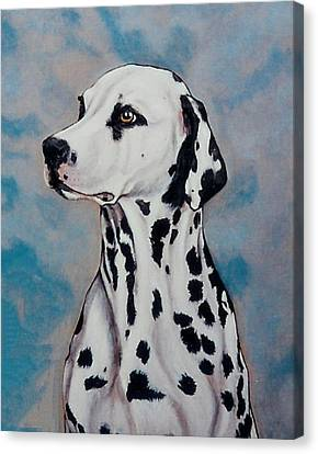 Spotty Canvas Print by Lilly King