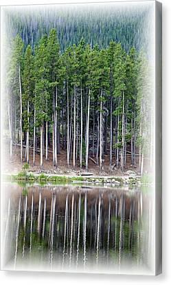 Sprague Lake 03 Canvas Print by Pamela Critchlow