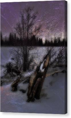 Canvas Print featuring the photograph Sprague Lake Winter Dream by Ellen Heaverlo