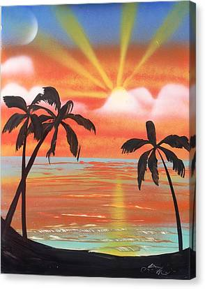 Spray Art Canvas Print by Lane Owen
