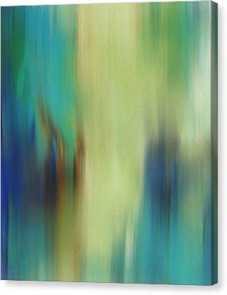 Spring Abstract Canvas Print