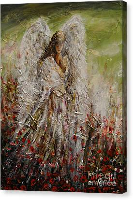 Spring Angel Canvas Print