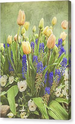 Spring Art - Life Captured Canvas Print by Jordan Blackstone