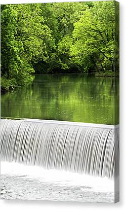 Canvas Print featuring the photograph Spring At Buck Creek by Parker Cunningham
