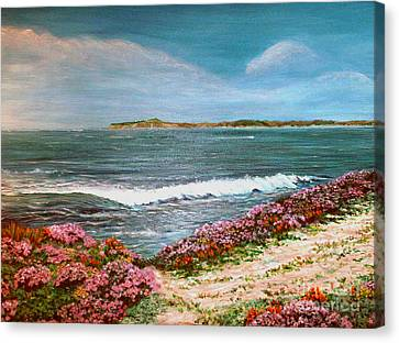Spring At Half Moon Bay Canvas Print