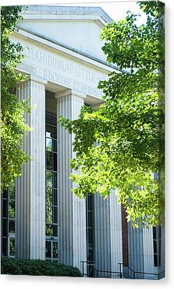 Canvas Print featuring the photograph Spring At Uga by Parker Cunningham