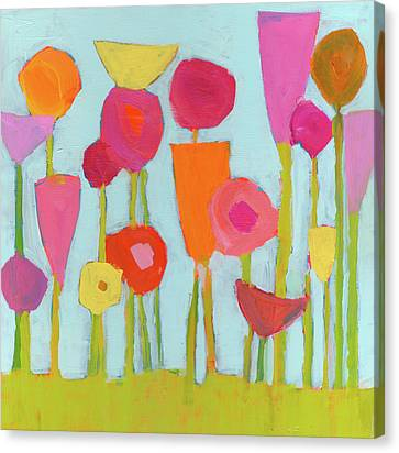 Spring Blooms Canvas Print by Laurie Breen