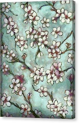 Spring Is In The Air Canvas Print by Autumn Moon