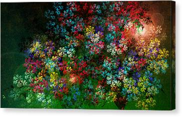 Spring Bouquet Canvas Print by Adam Vance