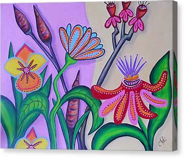 Spring Canvas Print by Claudia Tuli