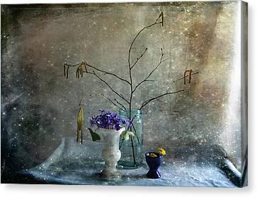 Spring Collection Canvas Print by Randi Grace Nilsberg