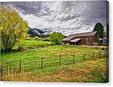 Spring Coming To Life Canvas Print by James Steele
