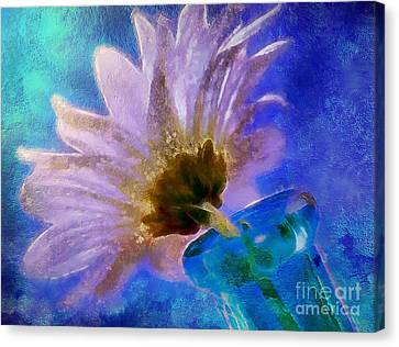 Flora Canvas Print - Spring Delivery by Krissy Katsimbras