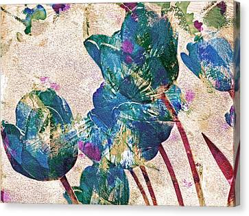 Spring Energies 10 Canvas Print by Lynda Lehmann
