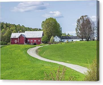 Spring Farm Canvas Print